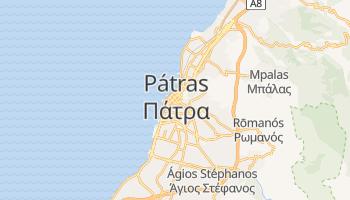 Mapa online de Pátras para viajantes
