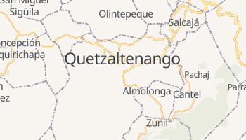 Mapa online de Quetzaltenango para viajantes