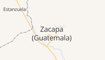 Mapa online de Zacapa para viajantes