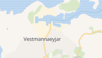 Mapa online de Vestmannaeyjar para viajantes