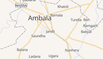 Mapa online de Ambala para viajantes