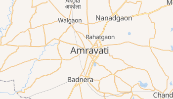 Mapa online de Amravati para viajantes