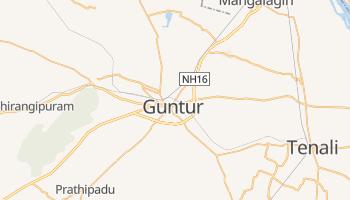 Mapa online de Guntur para viajantes