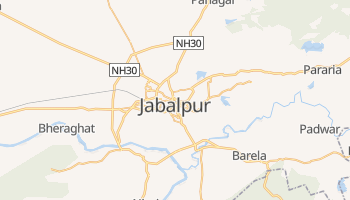 Mapa online de Jabalpur para viajantes