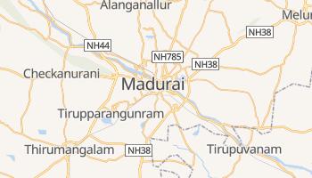 Mapa online de Madurai para viajantes
