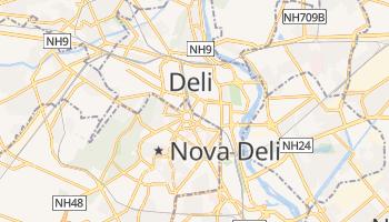 Mapa online de Nova Deli para viajantes