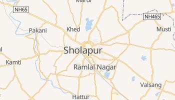 Mapa online de Sholapur para viajantes