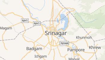 Mapa online de Srinagar para viajantes