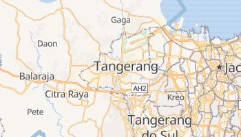 Mapa online de Tangerang para viajantes