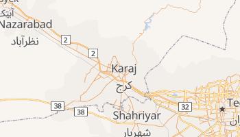 Mapa online de Karaj para viajantes