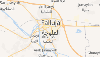 Mapa online de Falluja para viajantes