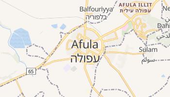 Mapa online de Afula para viajantes