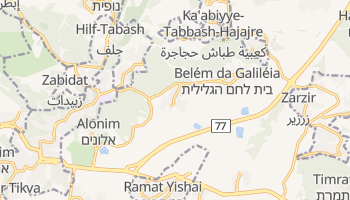 Mapa online de Bet Shemesh para viajantes