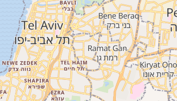 Mapa online de Givatayim para viajantes
