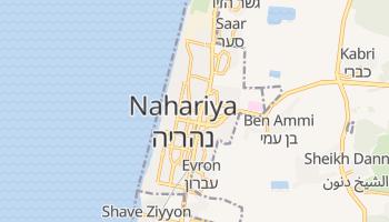 Mapa online de Nahariya para viajantes