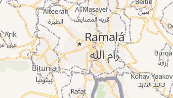 Mapa online de Ramallah para viajantes