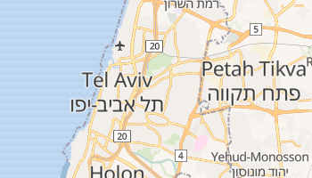 Mapa online de Ramat Gan para viajantes