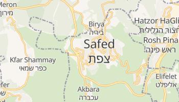 Mapa online de Safed para viajantes