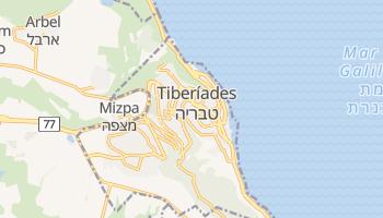 Mapa online de Tiberíades para viajantes