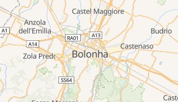 Mapa online de Bolonha para viajantes