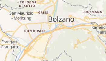 Mapa online de Bolzano para viajantes