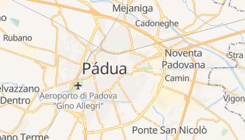 Mapa online de Pádua para viajantes