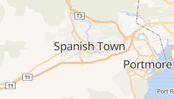 Mapa online de Spanish Town para viajantes