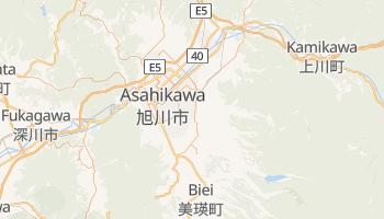 Mapa online de Asahikawa para viajantes