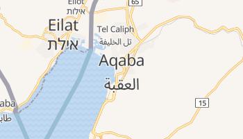 Mapa online de Aqaba para viajantes