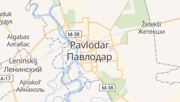 Mapa online de Pavlodar para viajantes