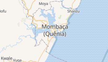 Mapa online de Mombaça para viajantes
