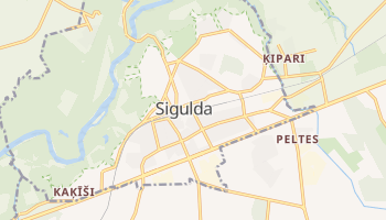 Mapa online de Sigulda para viajantes