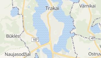 Mapa online de Trakai para viajantes