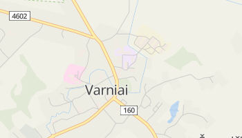 Mapa online de Varniai para viajantes