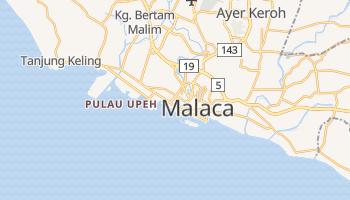 Mapa online de Malaca para viajantes