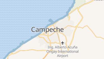 Mapa online de Campeche para viajantes