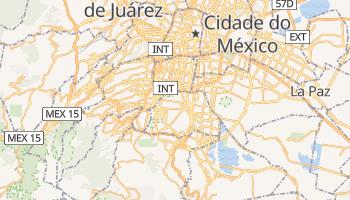 Mapa online de Coyoacán para viajantes