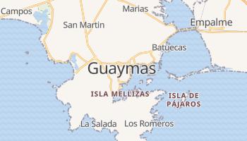 Mapa online de Guaymas para viajantes