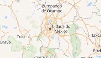 Mapa online de Cidade do México para viajantes
