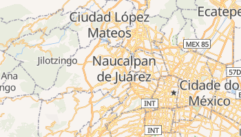 Mapa online de Naucalpan para viajantes