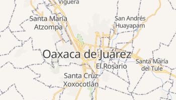 Mapa online de Oaxaca de Juárez para viajantes
