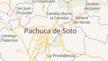 Mapa online de Pachuca de Soto para viajantes