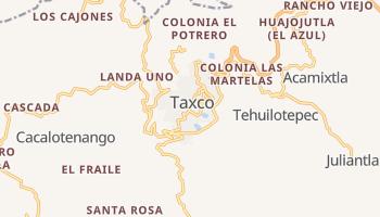 Mapa online de Taxco para viajantes