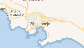 Mapa online de Zihuatanejo para viajantes