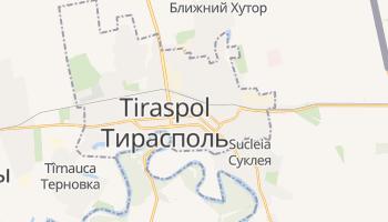 Mapa online de Tiraspol para viajantes