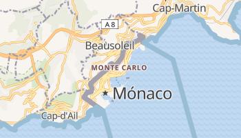 Mapa online de Monte Carlo para viajantes