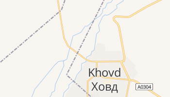 Mapa online de Hovd para viajantes