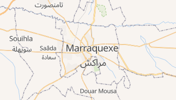 Mapa online de Marrakech para viajantes