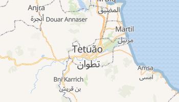 Mapa online de Tétouan para viajantes