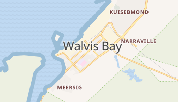 Mapa online de Walvis Bay para viajantes